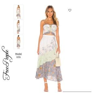 NWT Free People In The Flowers Set